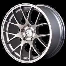 19 Inch Miro Type 112 Silver/Mattte Black 5x114.3