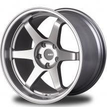 18 Inch Miro Type 398 Silver/Mattte Black 5x100