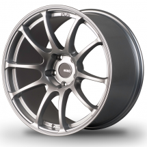 18 Staggered Miro Type 563 Silver/Mattte Black 5x114.3