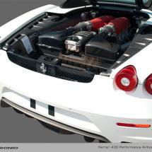 Caborino Performance Airbox Lids for F430